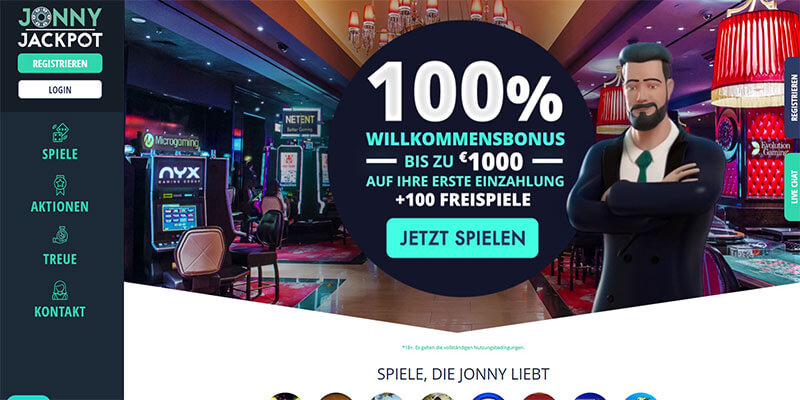 jonny jackpot casino startseite